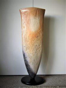 Vasen-Objekt aus dem Holzbrand-Ofen 2