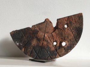 Stockdreher Keramik-Skulptur 21
